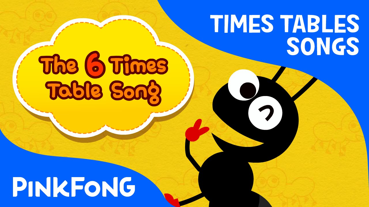The 6 times table song count by 6s times tables songs for Table 6 song