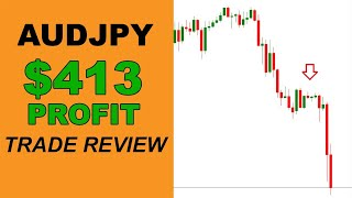 AUDJPY $413 Profit Trade Review - Forex Trading Philippines