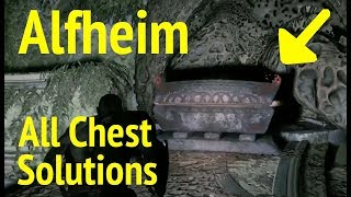 God of War: All Alfheim Chest Puzzle Solutions (God of War 4)