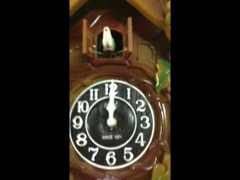Cuckoo wall clock deer-Ajantha