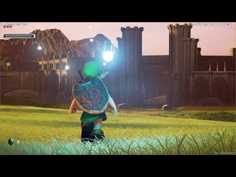 Unreal Engine 4 [4.13.1] Zelda Ocarina of Time / Hyrule Field + Download link