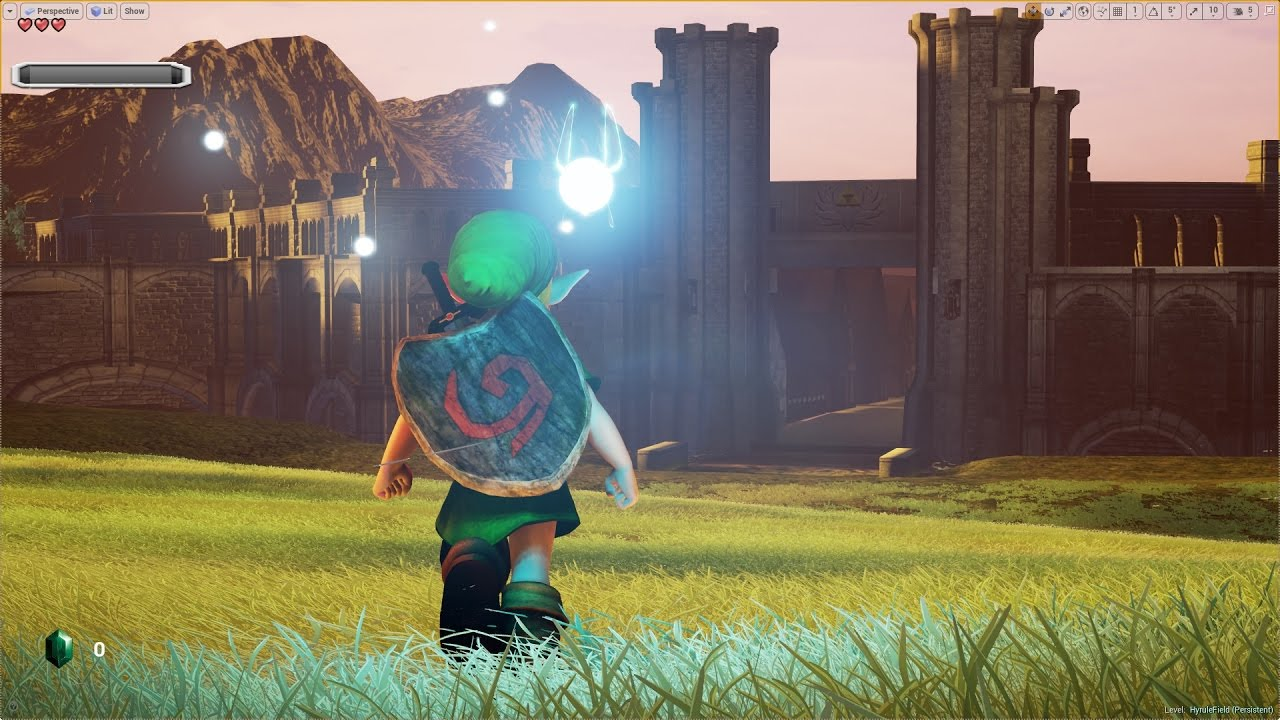 Bildergebnis für The legend of zelda unreal engin