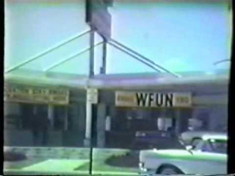 WQAM vs. WFUN Miami Radio Wars 1964 - Rare Home Movie