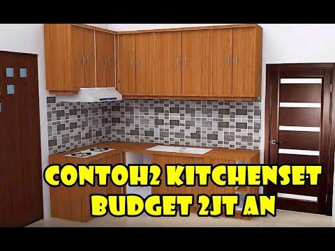 32 Contoh Model Kitchen Set 2jt An Desain Dapur Minimalis Sederhana Mewah Terbaru Tahun 2021 Youtube