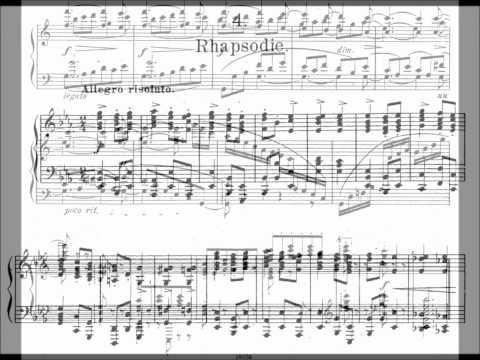 Brahms - 4 Klavierstücke, Op. 119