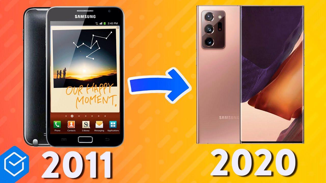 Download A EVOLUÇÃO da linha GALAXY NOTE! ( história entre 2011 - 2020 )