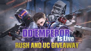 🔴 UC GIVEAWAY ON 80 LIKES | PUBG MOBILE LIVE | CUSTOM ROOMS