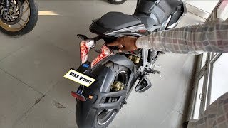 2018  Bajaj Pulsar RS 200 BS4 Review Price Mileage All New Features Single ABS FI In Hindi