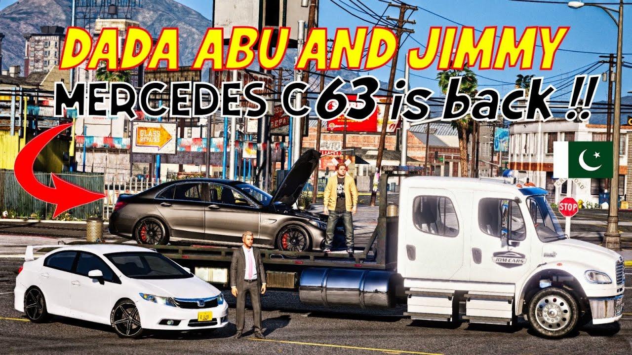 GTA 5 Pakistan | DADA ABU & Jimmy | Recovery For Mercedes Benz AMG C63 | Urdu