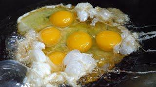 중화 계란 볶음밥 / fried egg on fried…