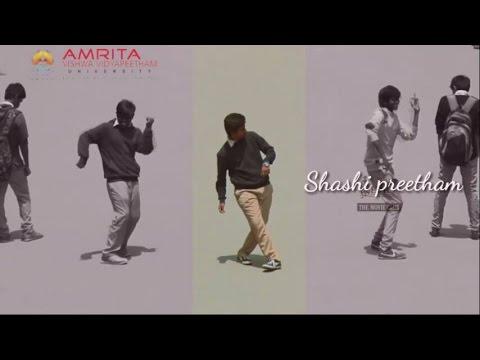 Shashi preetham Dance performance in Amrita  college students  Bangalore