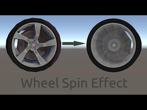 Wheel Spin Effect Tutorial - Unity3D Tricks - Unity3D
