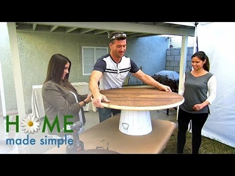 Fresh Face for a Tired Space | Home Made Simple | Oprah Winfrey Network