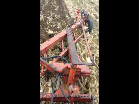 Plowing with CASE 1030 and model 2000 4-16 plow