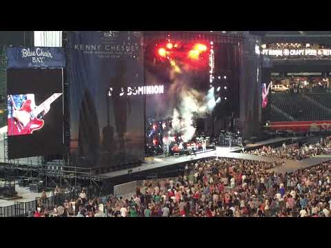 Old dominion live at chase field 2018 trip...