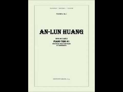 An-lun Huang's PianoTrio No 1, Op 30, the European performance of the 3rd movement