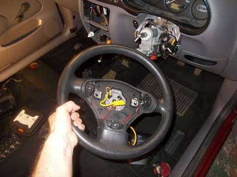 Ford Fiesta Steering Wheel Removal YouTube