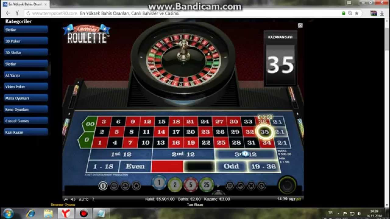 Roulette Technique Strategy