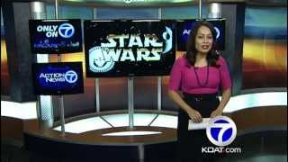 Actors audition for Star Wars Navajo voiceover