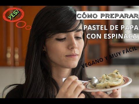 Ideas Veg - Pastel de papa y espinaca