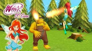 Winx Club PC Game #1 | Bloom descubre que es hada!!