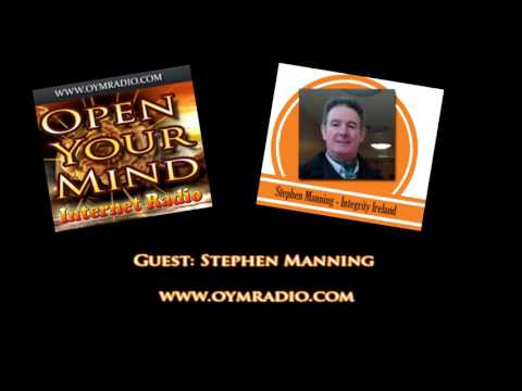 Open Your Mind (OYM) Radio - Stephen Manning P2 - 29th May 2016