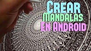 CREAR ESTAS IMAGENES EN ANDROID (Mandalas)
