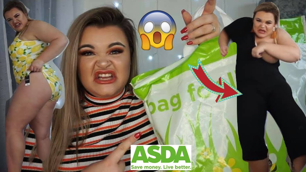 0ba4212167 SIZE 16 GEORGE ASDA TRY ON HAUL...IS THIS A JOKE? - YouTube