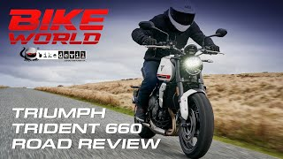 Chris Rides The Triumph Trident 660, It's A Very Addictive Road Bike. | 4K