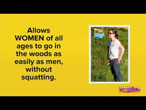 Standup Female Urinal Device | 20% Discount Code Below