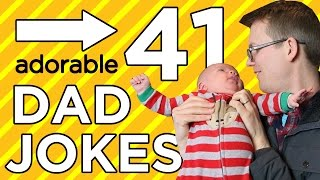 Repeat youtube video 41 Dad Jokes in 4 Minutes! (with special guest star...)