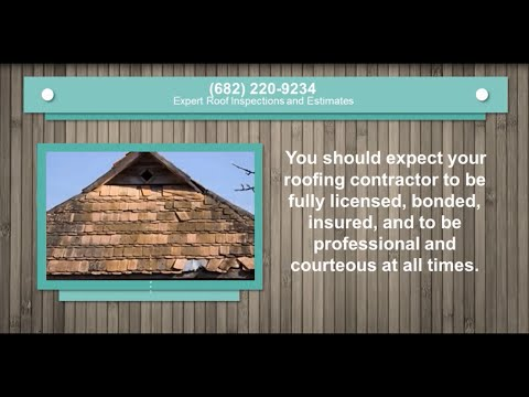 Hail Storm Damage Roof Repair Mansfield Roofing Companies
