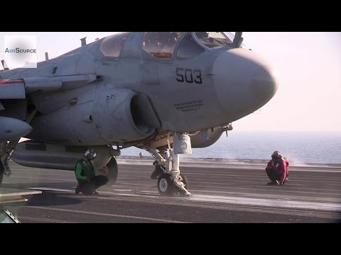 Aircraft Launch from USS George H.W. Bush in the Arabian Gulf