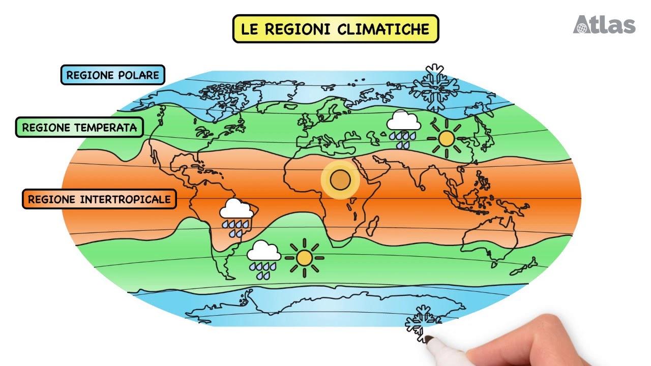 Italia Climatica Cartina.Che Cos E Il Clima Youtube