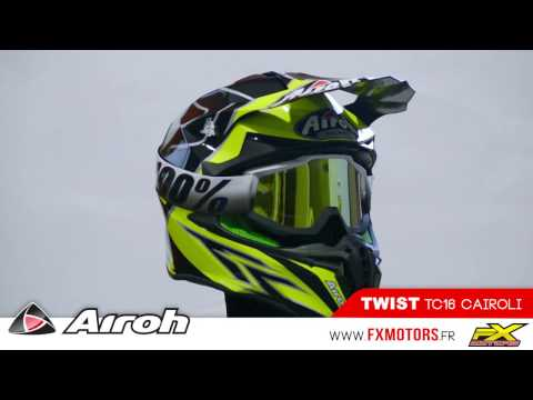 Casque Motocross Airoh Twist Tc16 Cairoli 2017 ржачные видео приколы