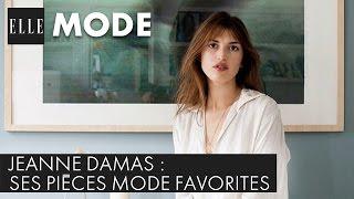 Jeanne Damas nous révèle ses pièces mode favorites  ELLE Mode