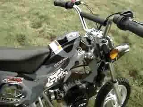 49cc Giovanni Pocket Dirt Bike Urban Camo Youtube