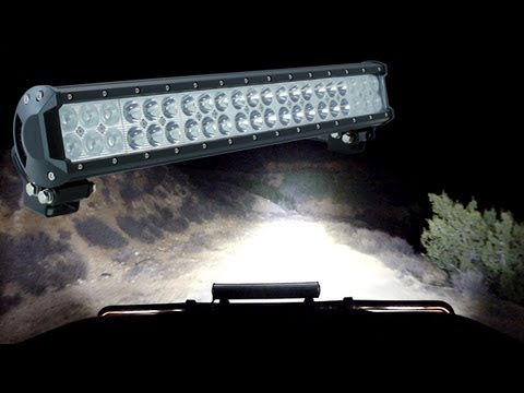 Off road jeep vehicle led light bars lamphus cruizer product off road jeep vehicle led light bars lamphus cruizer product review night drive demo aloadofball Images