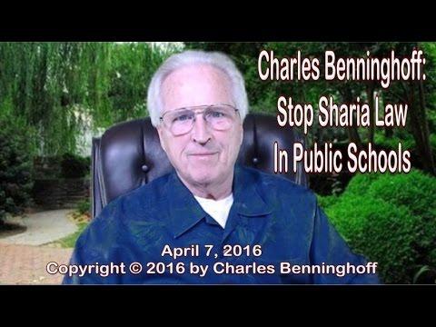 Charles Benninghoff: Sharia Law in Public Schools