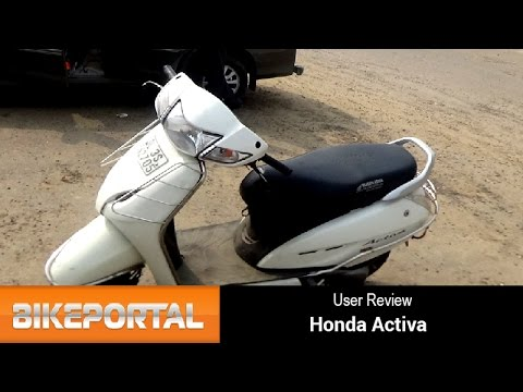 Honda Activa User Review - 'Quite handy to ride' - Bikeportal