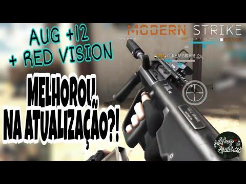 MSO, AUG +12 COM A RED VISION...COMO ELA ESTÁ APÓS A ATUALIZAÇÃO, SERÁ MELHOROU???