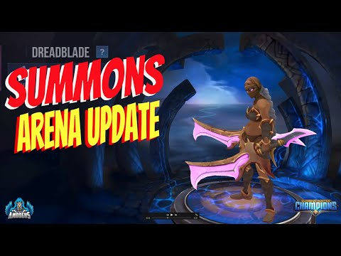 Dungeon Hunter Champions:  Summons And Arena Update