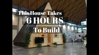 This House Takes 6 Hours To Build And Cost Only $33k