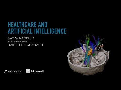 Healthcare and Artificial Intelligence | Microsoft CEO Satya Nadella visits Brainlab