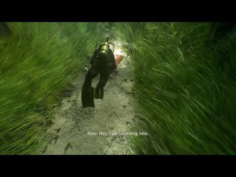 Uncharted 4: A Thief's End - The Malaysia Job: Scuba Tutorial, Treasure Locations, Secure Crates
