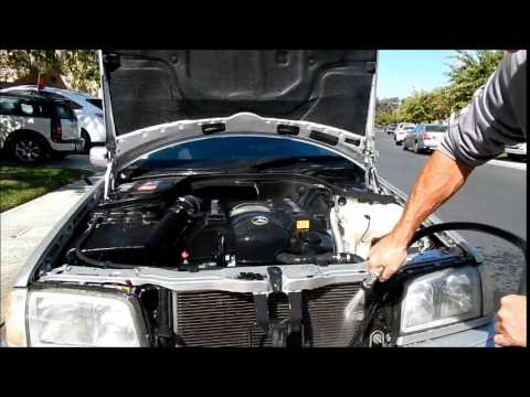 Best Car Engine Cleaning Tips: MBZ C280 Sport