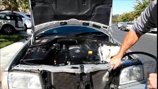 Best Car Engine Cleaning Tips: MBZ C280 Sport