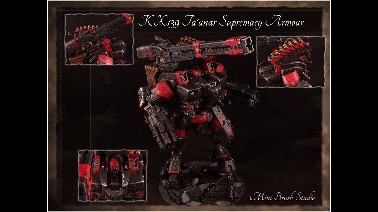 Forge World - Tau KX139 Ta'unar Supremacy Armour