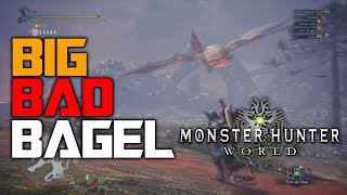 Big Bad Bagel Moments  - Bazelgeuse Montage | Monster Hunter World PS4 PRO