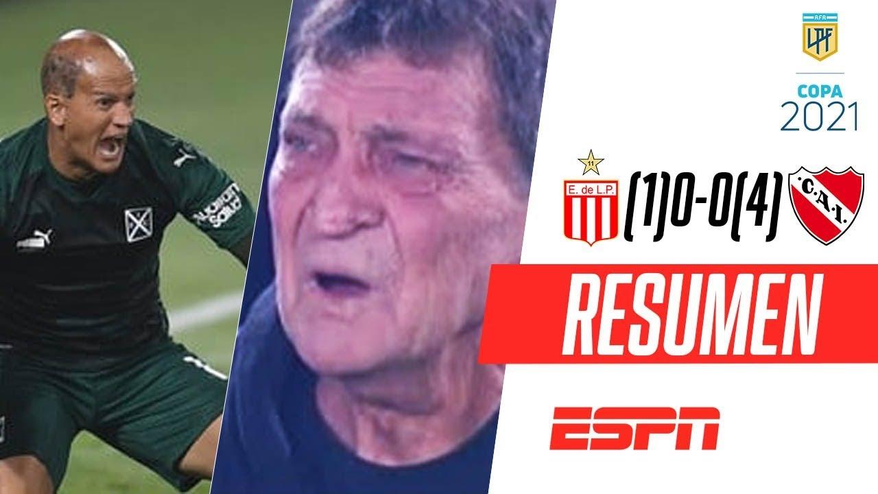 ¡SOSA SE LUCIÓ, FALCIONI SE EMOCIONÓ Y EL ROJO PASÓ! | Estudiantes (1)0-0(4) Independiente | RESUMEN